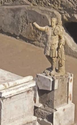 На раскопках Геркуланума