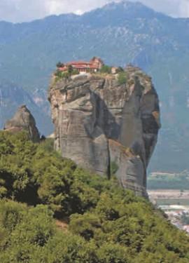 Монастырь Святой Троицы в Метеорах (Греция)