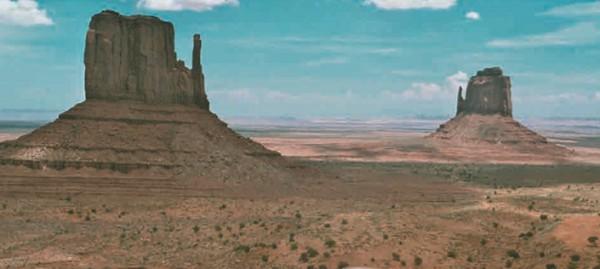 Долина монументов в штате Аризона (США)