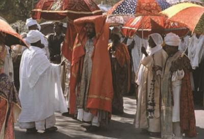 Христианский праздник Крещения в Эфиопии