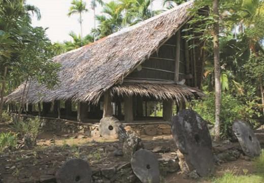 Традиционное жилище народов Океании