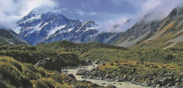 Новозеландские ландшафты