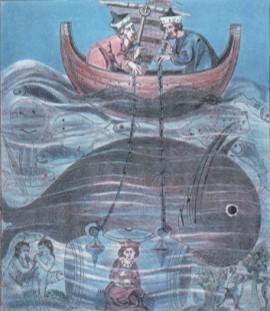 Иллюстрация из рукописи ХIII века