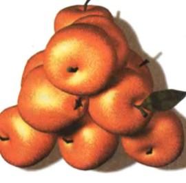 Это самый компактный способ укладки апельсинов