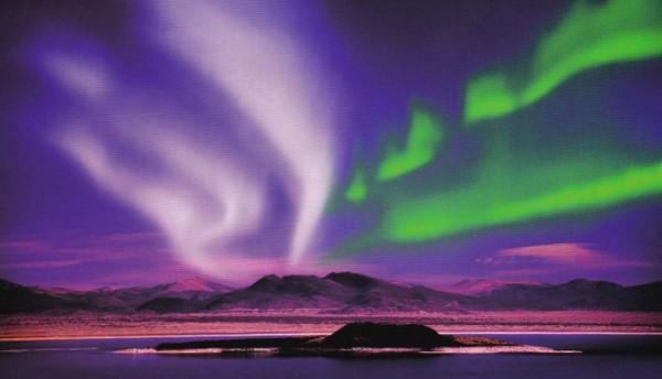 На Кольском полуострове можно увидеть северное сияние
