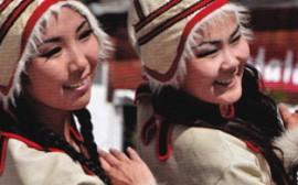 Якутские девушки