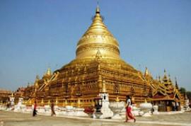 Ступа Шведагон. Мьянма