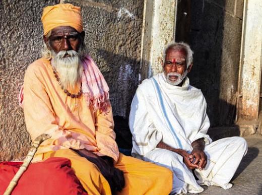 Монах-индус