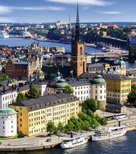 Стокгольм, столица Швеции