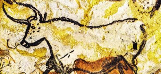 Рисунки на стенах пещеры Ласко