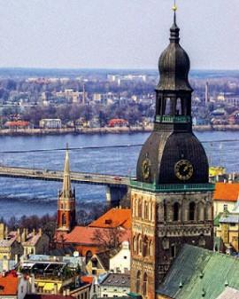Рига, столица Латвии