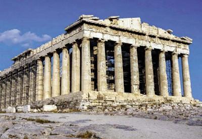 Парфенон. Афины, Греция