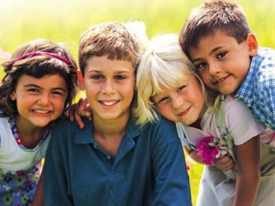 Дети разных народов