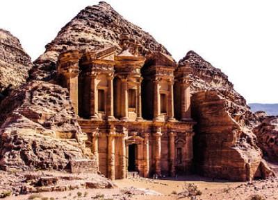 Иордания. Древний город Петра