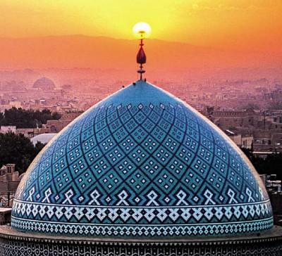 Мавзолей Сейда Рокнаддина в Йезде, Иран