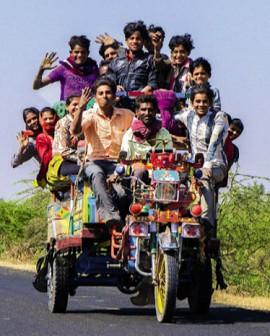 В Индии очень большая плотность населения