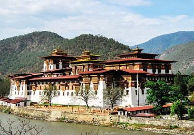 Монастырь в Бутане