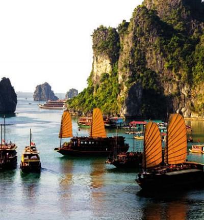 Залив Халонг. Вьетнам
