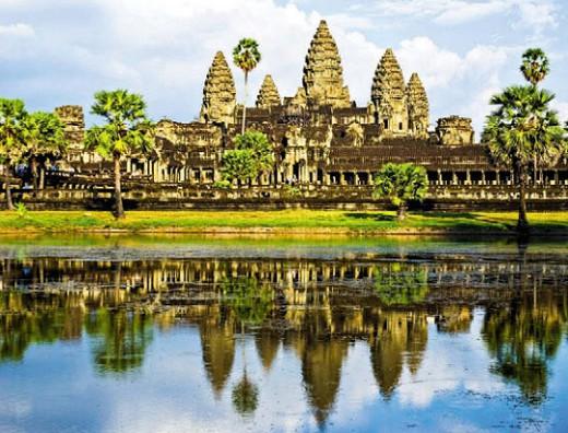 Храм Ангкор-Ват — символ Камбоджи