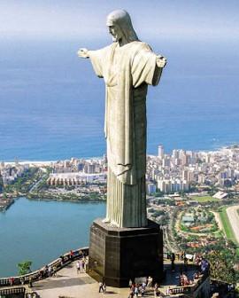 Статуя Христа Искупителяв Рио-де-Жанейро