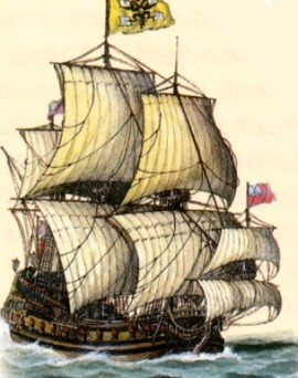 Русский фрегат «Штандарт»