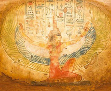 Изображение богини Нут