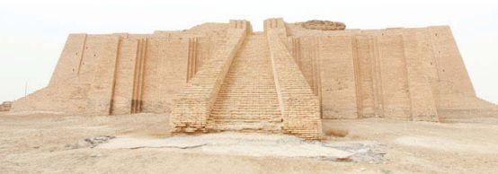 Древний шумерский зиккурат в Уре