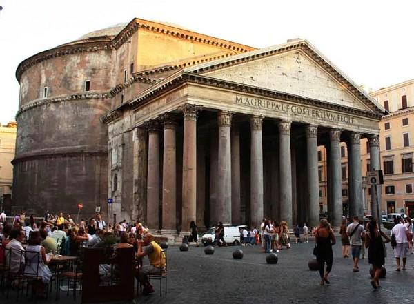 Пантеон, Рим. II в.