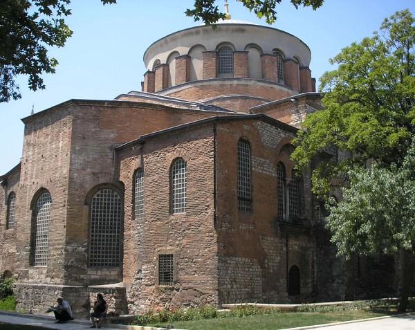 Церковь Святой Ирины. Константинополь. VI в.