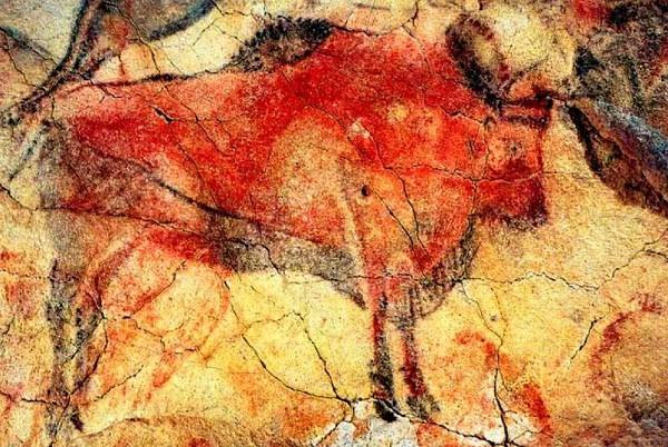 Наскальная живопись. Пещера Альтамира, Испания