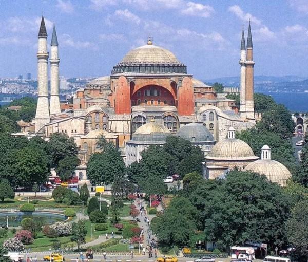 Собор Святой Софии. Константинополь. VI в.