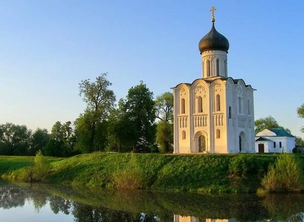 Церковь Покрова на Нерли. XII в. Боголюбово