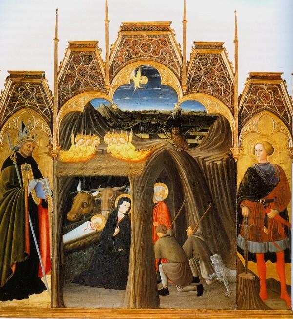 Рождество со св. Августином и Гальгано