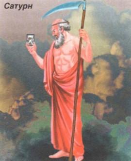 Бог Сатурн