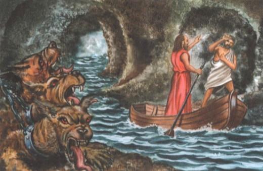 переправа через подземную реку Стикс