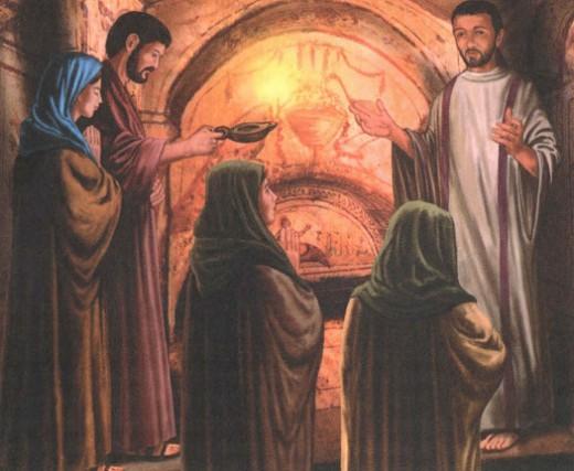 Первые христиане Рима