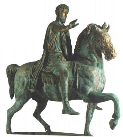 бронзовая статуя Марка Аврелия