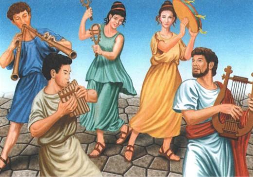 Музыка в Древнем Риме