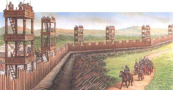 Пограничные укрепления
