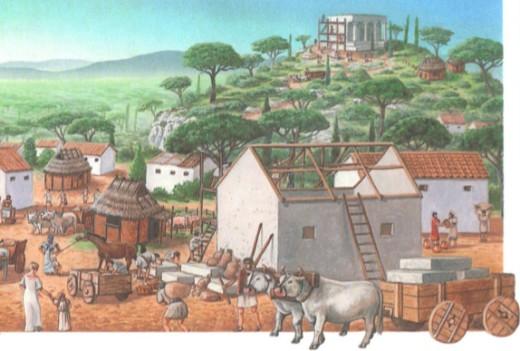 строительство в древнем Риме