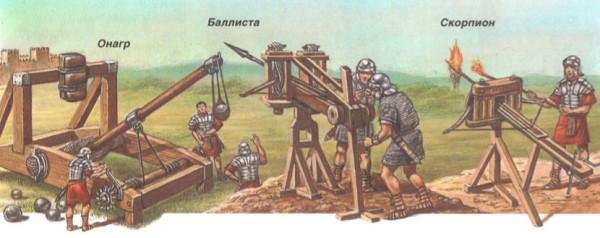артилерийские римские сооружения