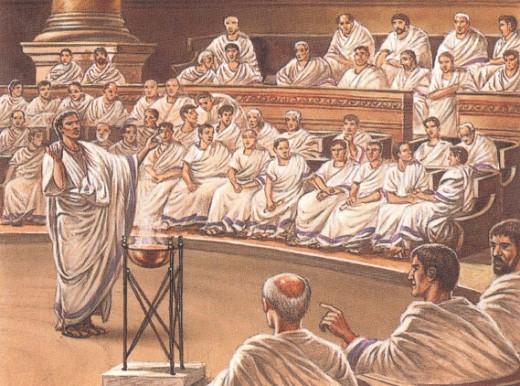 Заседания римского сенат