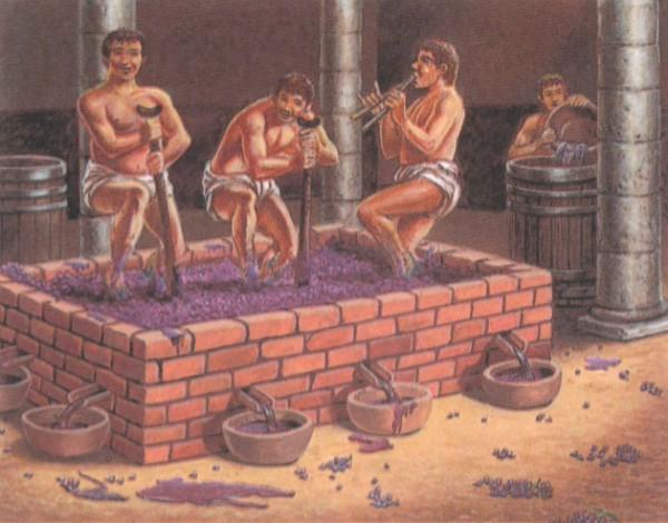 Виноделие в Древнем Риме