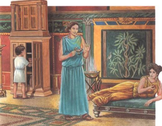 Дом богатого римлянина
