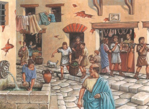 города римлян