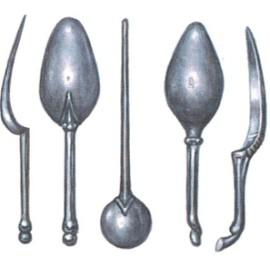 серебряные ложки древних римлян