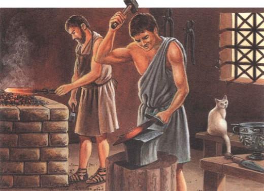 Римские ремесленники