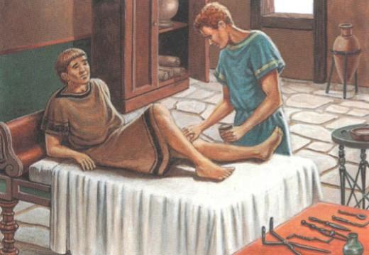 Врачи в Древнем Риме
