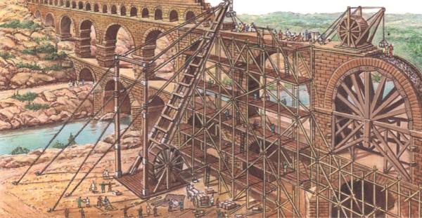 Строительство акведука
