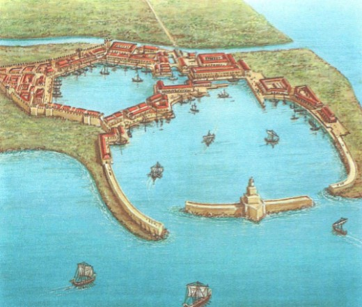 порт Остия